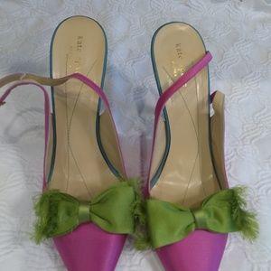 Kate Spade evening heels.
